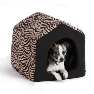 Best Friends by Sheri 2-in-1 Brown Zebra Pet Bed