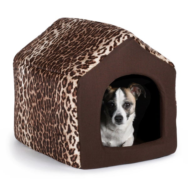 Best Friends by Sheri 2-in-1 Leopard Brown Pet Bed