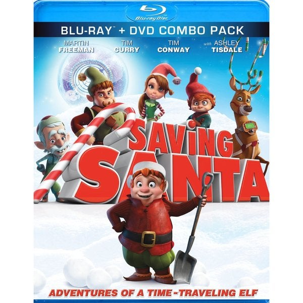 Saving Santa (Blu-ray Disc) 13369352