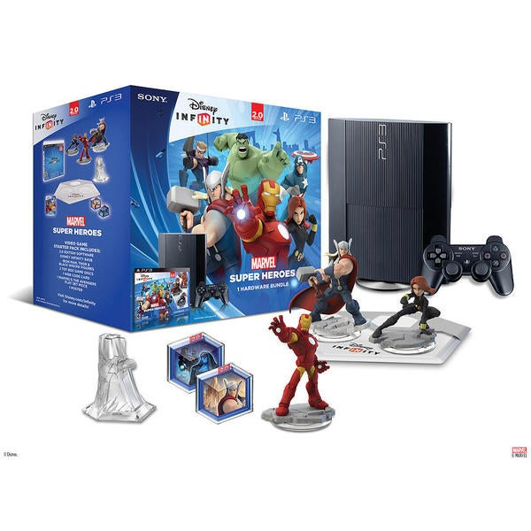 PS3 - Disney INFINITY: Marvel Super Heroes (2.0 Edition) Hardware Bundle 13371701