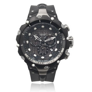 Invicta Men's 80477 Silicone 'Venom' Chronograph Quartz Watch