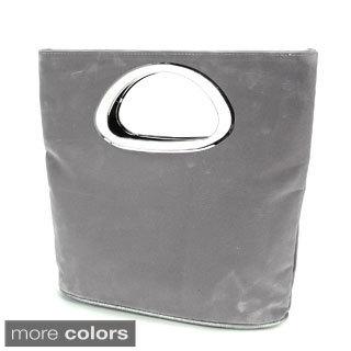 Faux Suede Leather Party Clutch Handbag