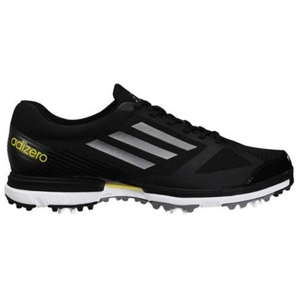 Adidas Men's Adizero Sport Black Golf Shoes