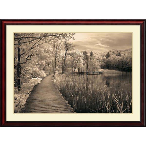 Ily Szilagyi 'Take My Lead II' Framed Art Print 43 x 32-inch