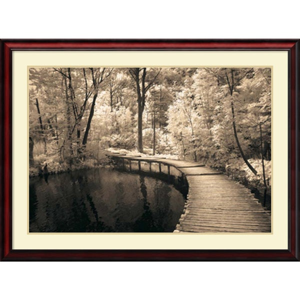 Ily Szilagyi 'Take My Lead I' Framed Art Print 43 x 32-inch