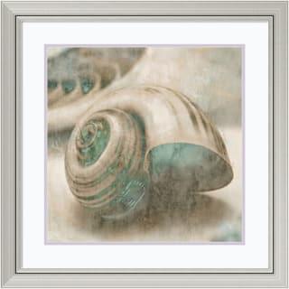 John Seba 'Coastal Gems II' Framed Art Print 29 x 29-inch