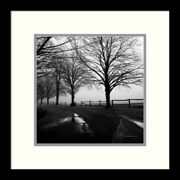 Harold Silverman 'After the Rain' Framed Art Print 13 x 13-inch 13372004