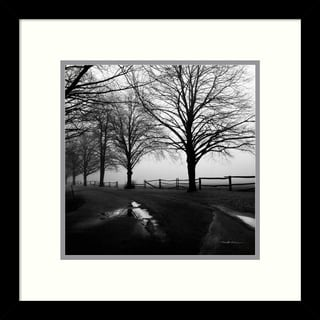 Harold Silverman 'After the Rain' Framed Art Print 13 x 13-inch