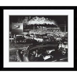 O. Winston Link 'Hot Shot Eastbound' Framed Art Print 38 x 32-inch