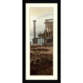 Alan Blaustein 'Portico Vista' Framed Art Print 20 x 43-inch