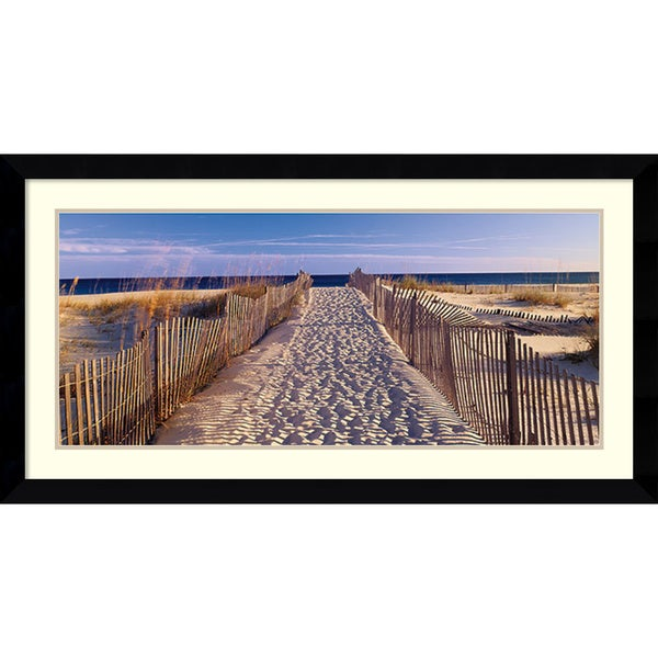 Joseph Sohm 'Pathway to the Beach' Framed Art Print 43 x 23-inch