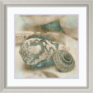 John Seba 'Coastal Gems I' Framed Art Print 29 x 29-inch