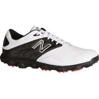 New Balance Men's Minimus LX White/ Black Golf Shoes