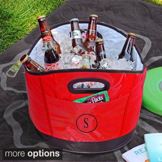 Personalized Red Party Cooler