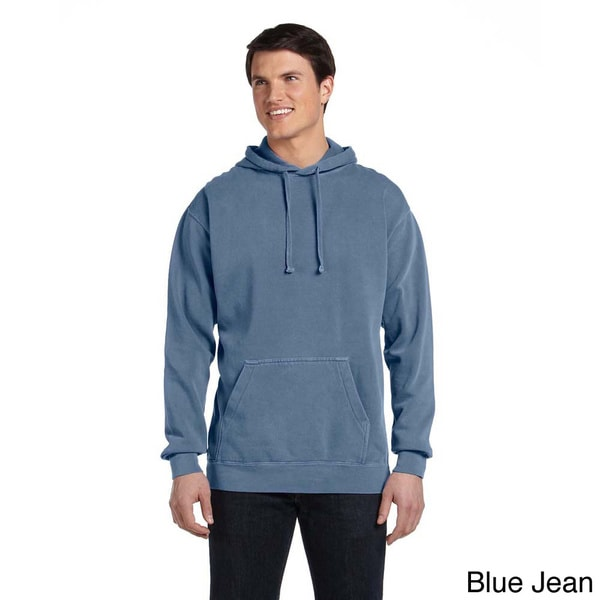 Men's Garment-dyed Pullover Hoodie