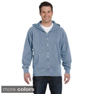 Men's Pigment-dyed Ringspun Cotton Full-Zip Hoodie