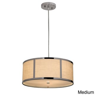 Butler 2-light/ 3-light Chrome Pendant