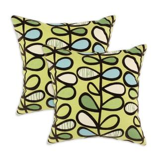 Amari Kiwi 17-inch Throw Pillows (Set of 2)