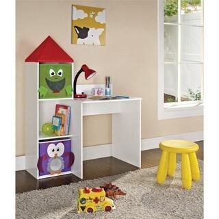 Altra Kids Castle Tower Desk with 2-bins