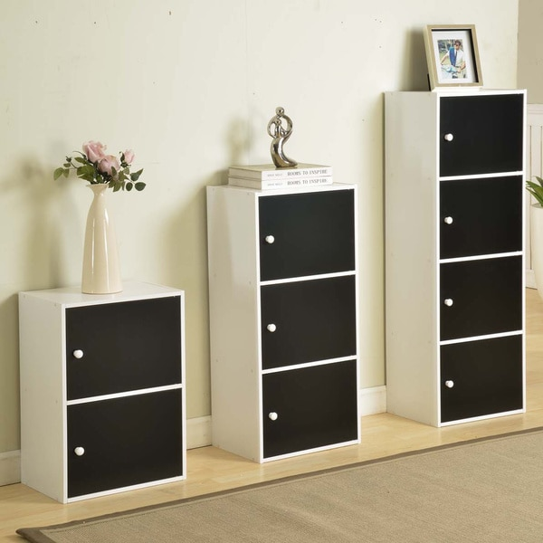 Black and White Contemporary Cabinet