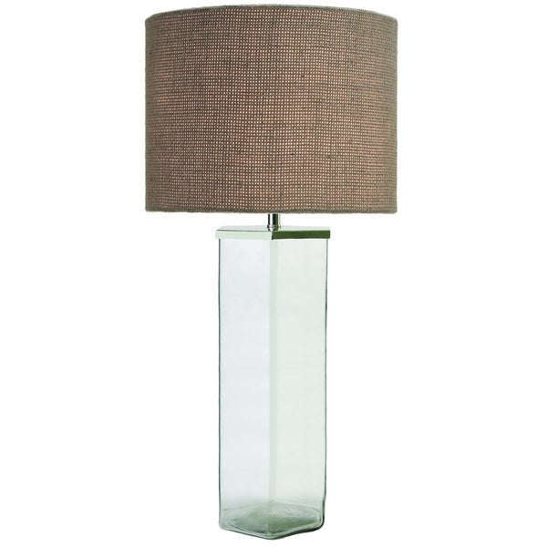 Colint 1-light Clear Glass Table Lamp