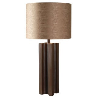Emma 1-light Bronze 'X' Table Lamp