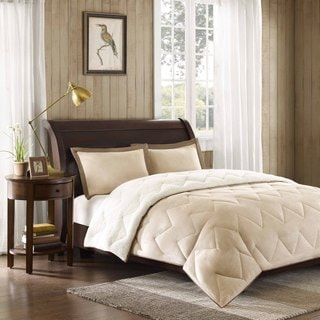 Premier Comfort Buffalo Creek Poly Suede Down Alternative Comforter Mini Set