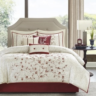 Madison Park Carmine 7-Piece Comforter Set