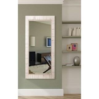 American Made Rayne Tuscan Ivory Floor Mirror