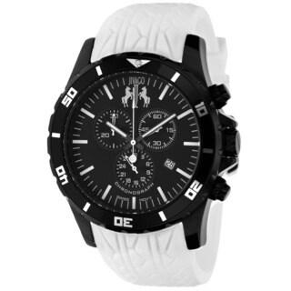 Jivago Men's Ultimate Sport Chronograph White Watch