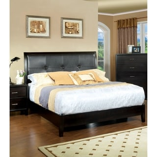 Furniture of America Elrich Espresso Platform Bed