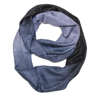 Saachi Women's Sequin Ombre Infinity Loop Scarf (India)