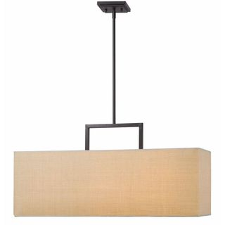 Emi 3-light Bronze Pendant