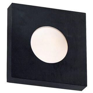 Burr Small Square Sconce/Flush