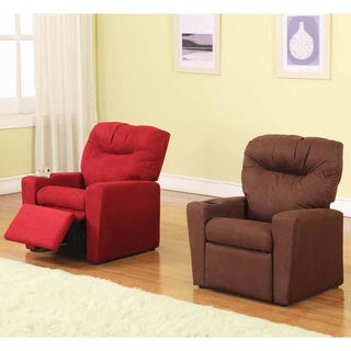 Children's Microfiber Recliner
