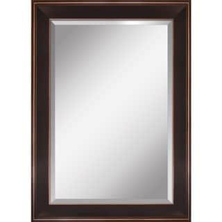 Yosemite Espresso Finish Framed Mirror