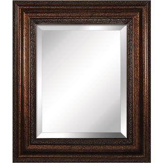 Yosemite Home Decor Mirror with Bronze Finished Frame
