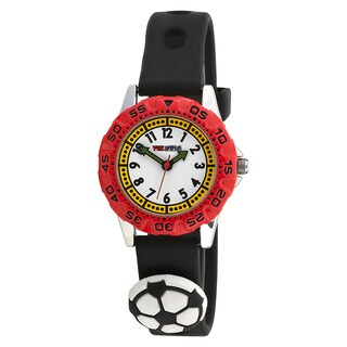 Time Teacher Kids' Soccer Sports Watch with Attachments
