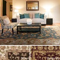Artistic Weavers Sawyer Hand-tufted Traditonal Bordered Wool Area Rug (5' x 8')
