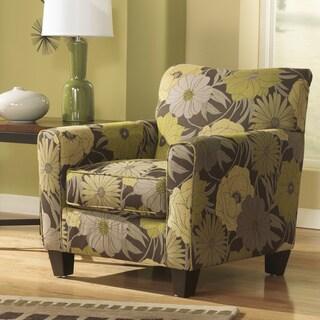 Signature Design by Ashley Riley Slate/ Lemoncello Accent Chair