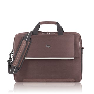 Solo Exclusives Collection Brown Studio 17.3-inch Laptop Briefcase