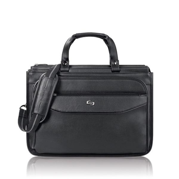 Solo Classic Triple Compartment 15.6-inch Laptop Briefcase
