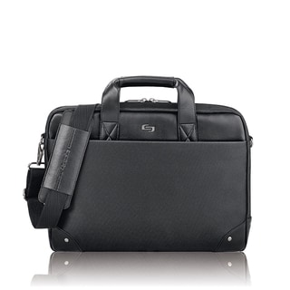 Solo Executive Vintage 15.6-inch Slim Laptop Briefcase