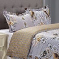 Garden Cotton 300 Thread Count 3-piece Duvet Cover Set