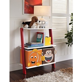 Altra Children's 2-bin Ladder Bookcase