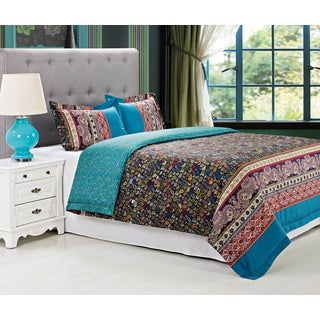 Rosewood Cotton 300 Thread Count 3-piece Duvet Cover Set