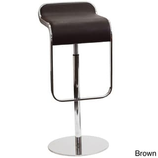 Lem Piston Genuine Leather Bar Stool