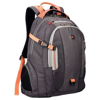 """Wenger COMMUTE Carrying Case (Backpack) for 16"""" Notepad - Slate, Oran"""