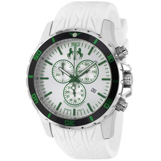 Jivago Men's Ultimate Sport White Chronograph Watch