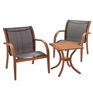 Upton Home Porter Outdoor Seating 3pc Set